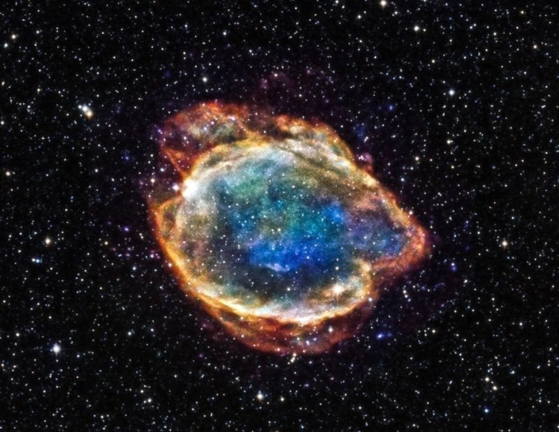 G299 Type 1a Supernova remnant, photo credit: NASA
