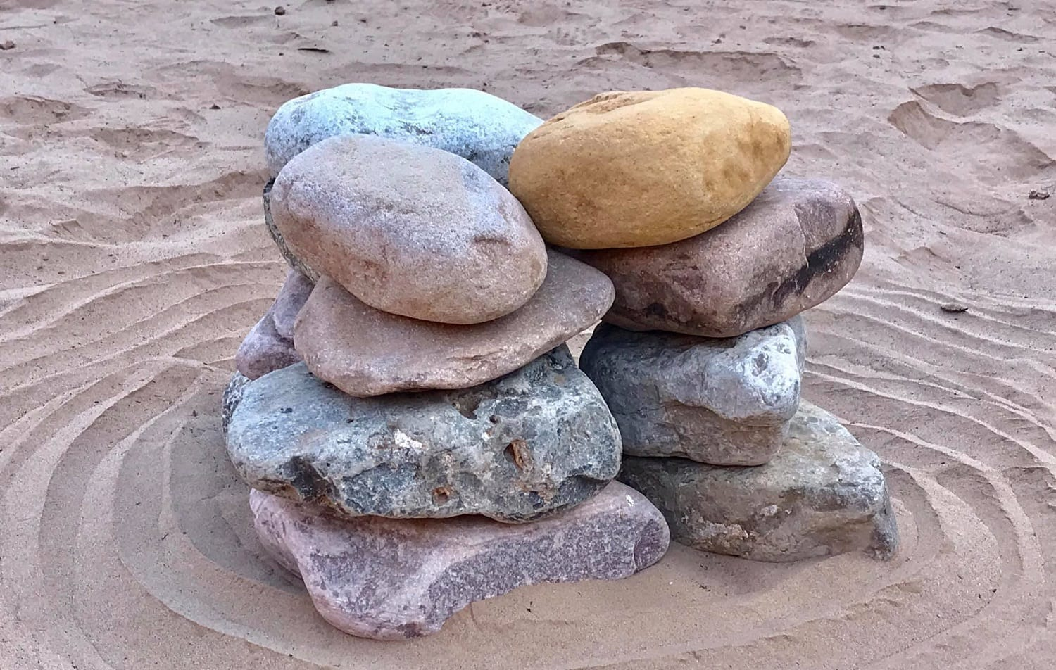 12 Stones in a pile, Canyon Ministries