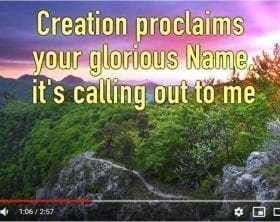 Joe Vermeulen's Creation's Life Giver YouTube still