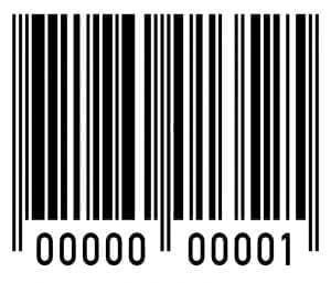 Sample barcode label