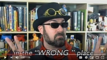 """Fossils in the """"Wrong"""" place, YouTube still"""