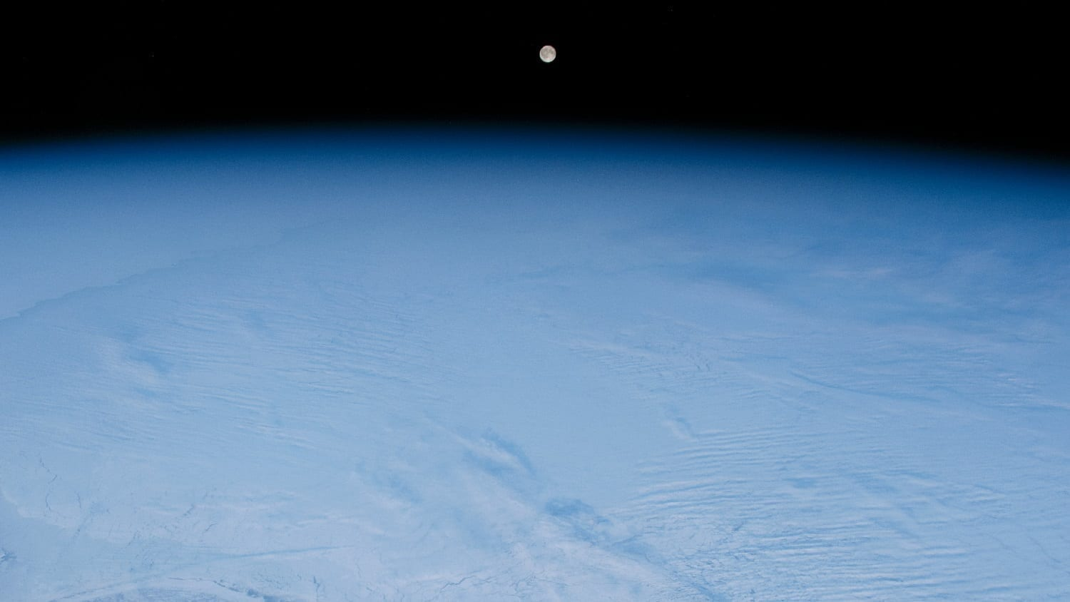 Winter over Hudson Bay, photo credit: NASA
