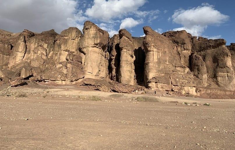 Solomon's Pillars from below