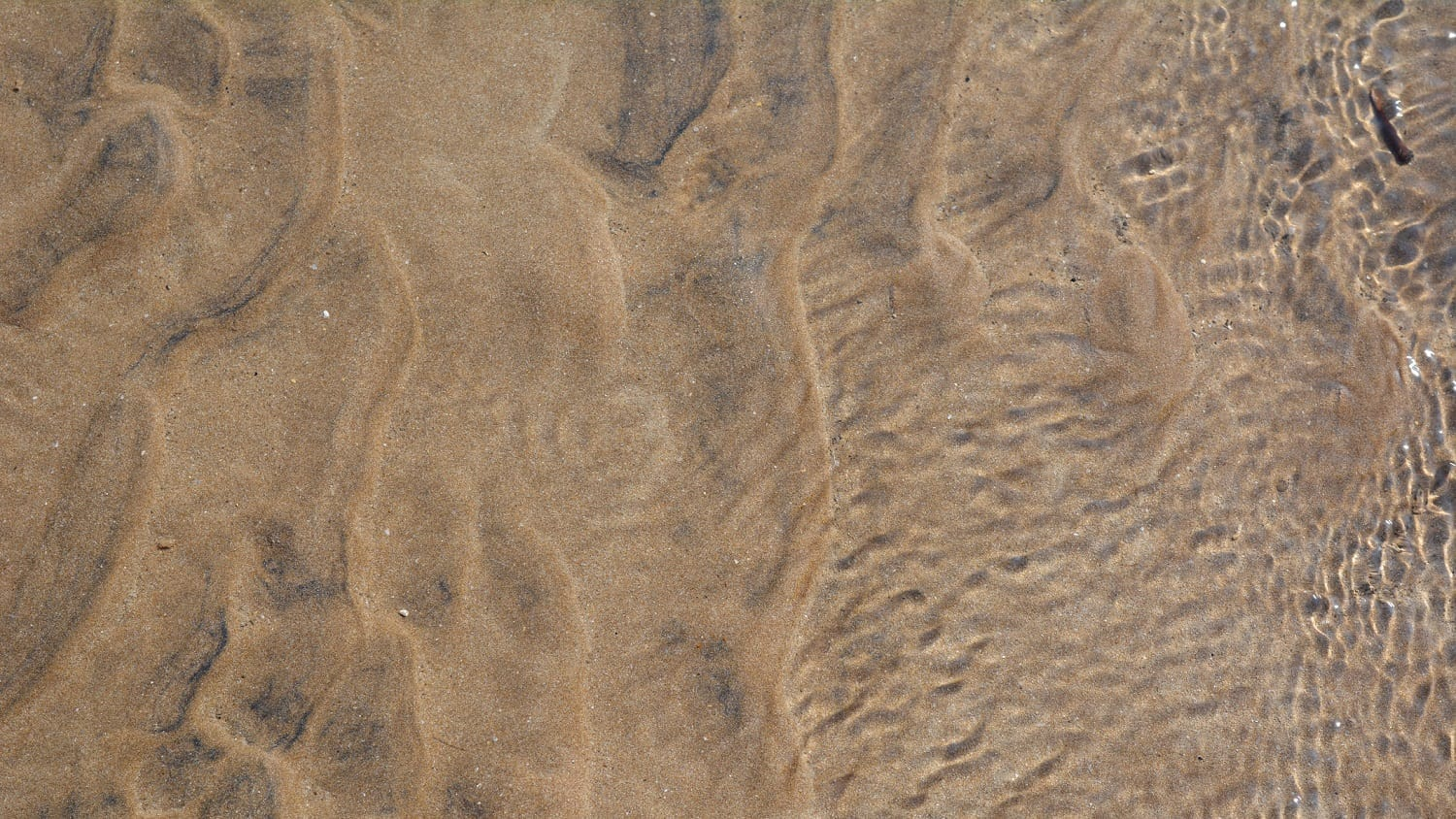 Water flowing over sand ripples: Photo 192874537 © Ajinkya Shinde | Dreamstime.com