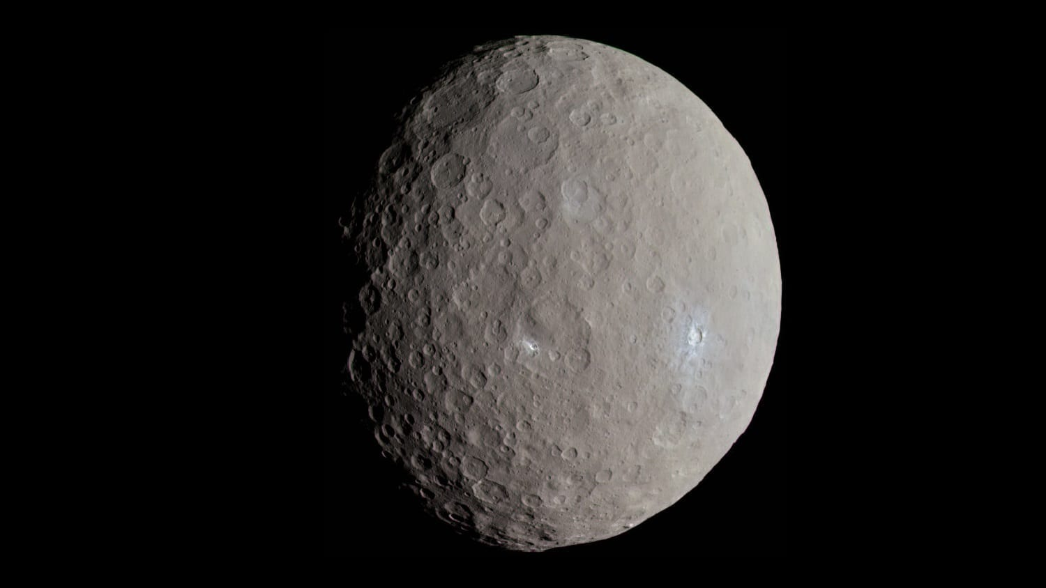 Ceres from the Dawn spacecraft