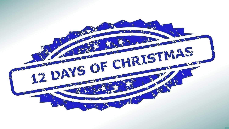 12 Days of Christmas logo: Illustration 195820839 © Ivan Karpov | Dreamstime.com