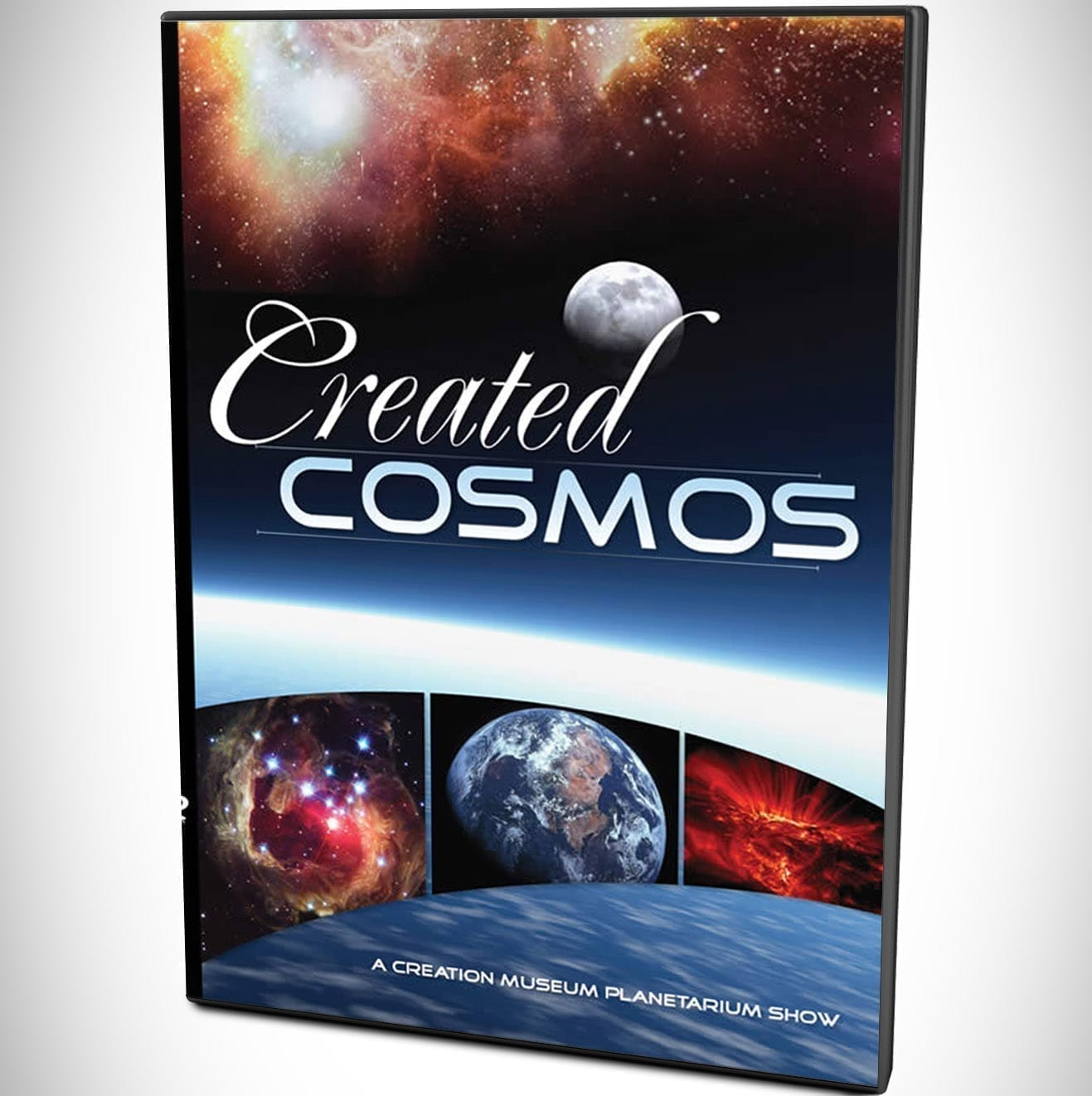 Cover of Created Cosmos DVD