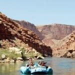Canyon Ministries raft tour at the bottom of the Grand Canyon