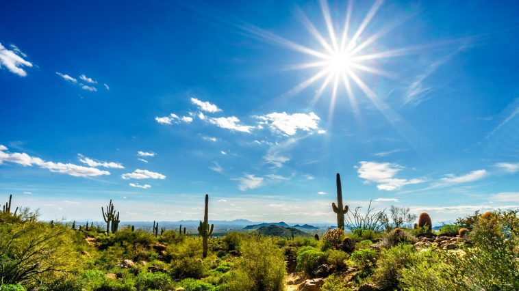 Photo 92118430 / Desert Bright Sun © Hpbfotos | Dreamstime.com