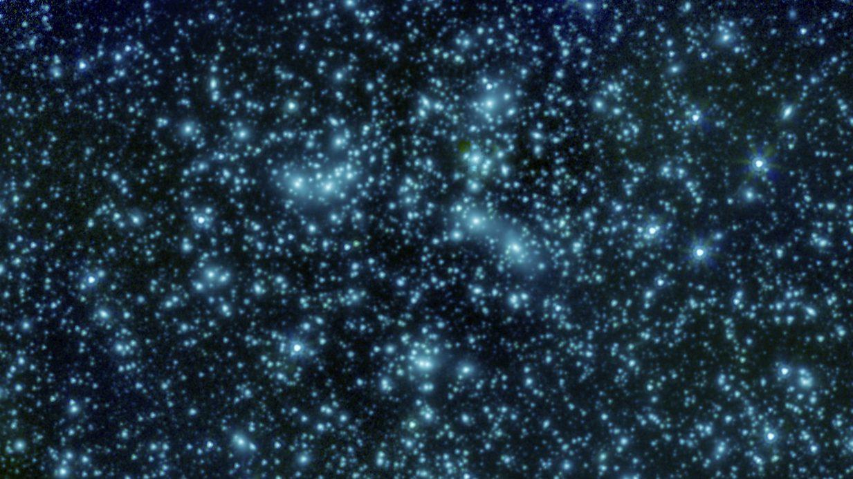 Pandora's Cluster of galaxies, photo credit: NASA