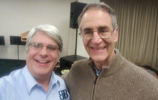 Dr. Sanford and Dr. Wile together