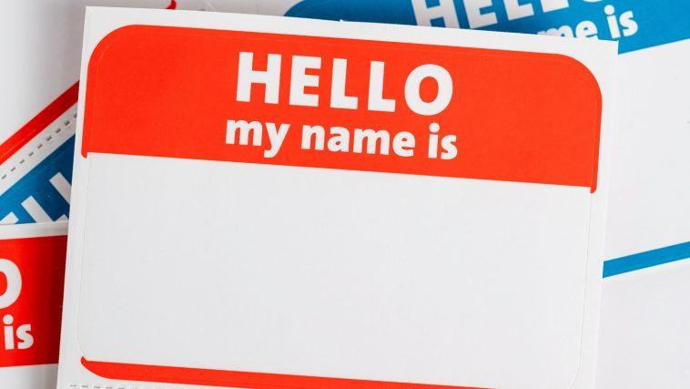 Hello, My Name Is stickers: Photo 175207569 © Michael Flippo | Dreamstime.com